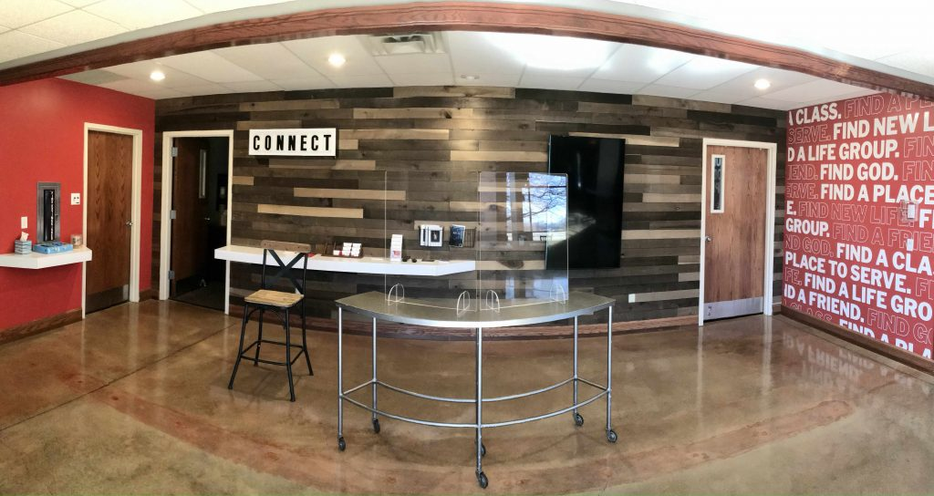 wide angle photo of the new connection center